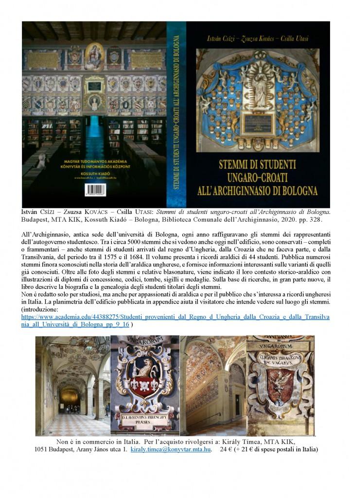 magyar címerek Bolognában_hu-it