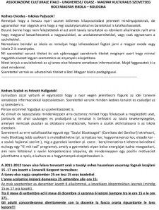 Magyar iskola 2011-2012 tanev-1