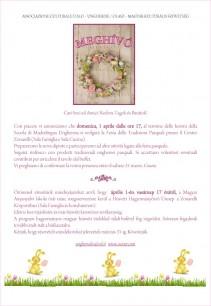 Invito Festa tradizioni Pasquali 2012