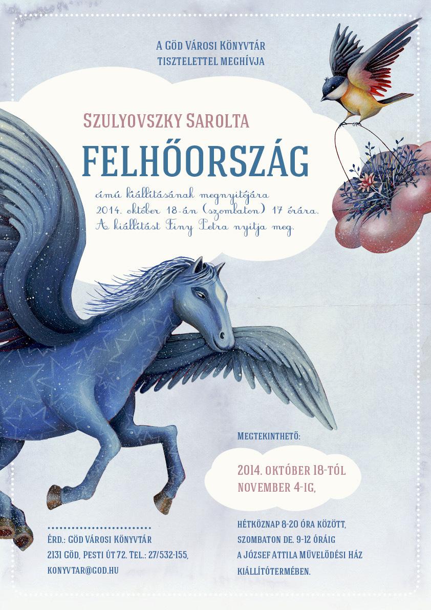 Mostra dell'illustratrice Szulyovszky Sarolta