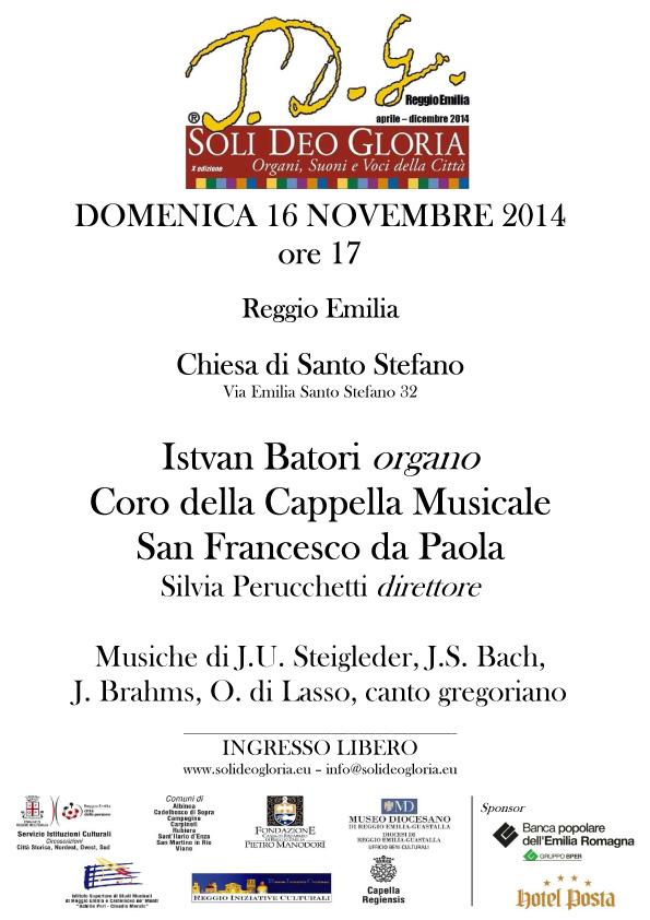 Concerto 16 novembre 2014