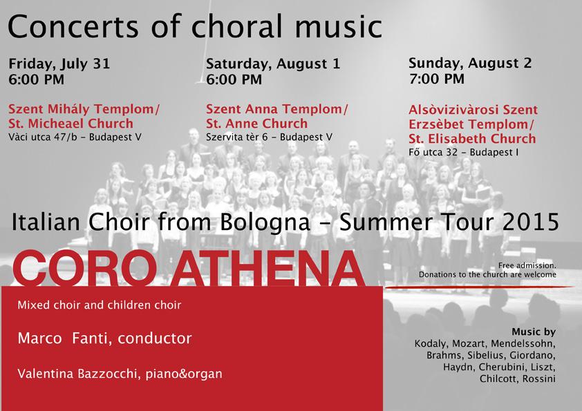 Coro Athena a Budapest