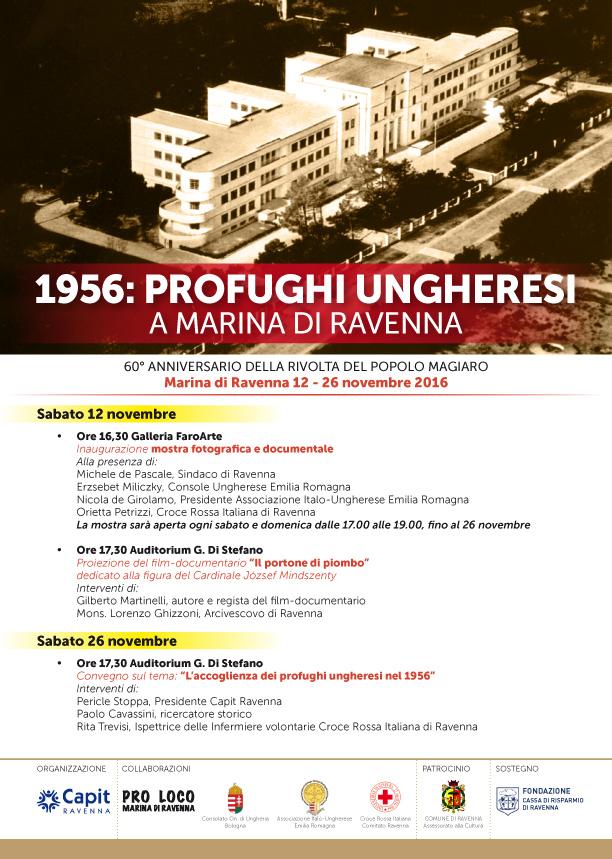profughi ungheresi a Ravenna