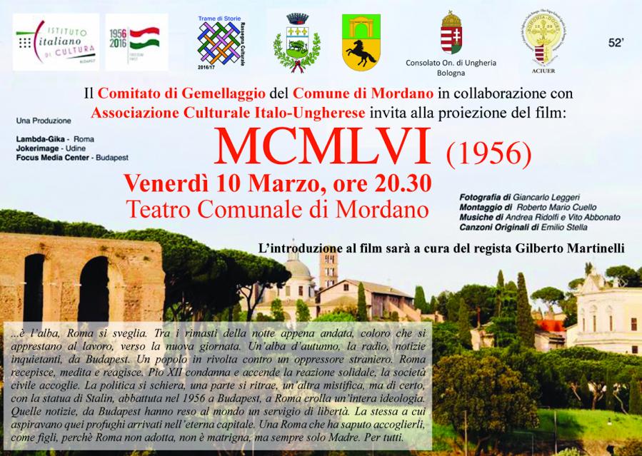Mordano - FILM di G. MARTINELLI sul 56