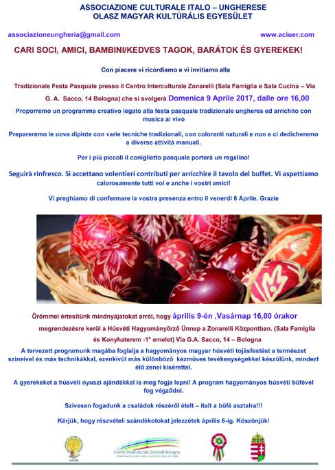 Tradizionale Festa Pasquale presso il Centro Interculturale Zonarelli