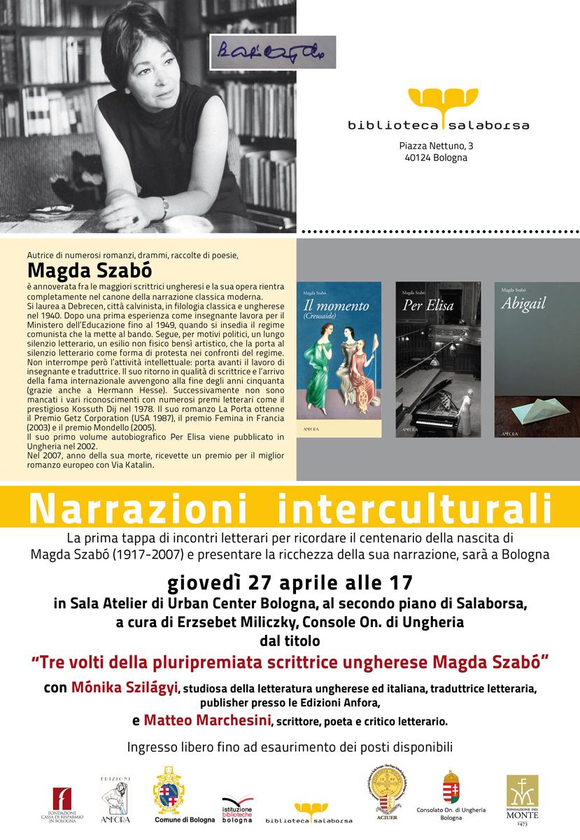 Tre volti della pluripremiata scrittrice ungherese Magda Szabó