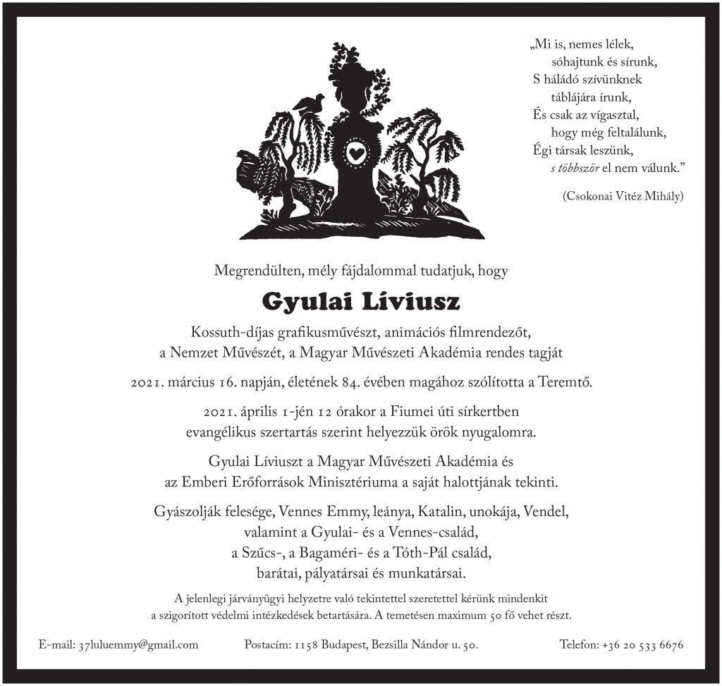 Gyulai_Líviusz_gyaszjel
